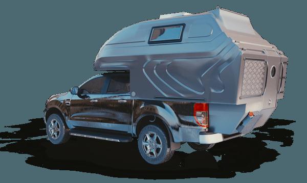 AZAR4 - Entwicklung eines Camper für 4x4 Pickup - azar pickup model 3d - Pickups geeignet für die AZAR4-Wohnkabine – SsangYong Actyon Sports
