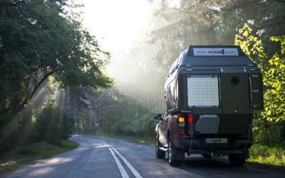 AZAR4 - Entwicklung eines Camper für 4x4 Pickup - kamper pick up podróż droga 400x250 - Ökonomisches Caravaning. Wie kann man auf Reisen mit einem Pickup Camper Geld sparen?