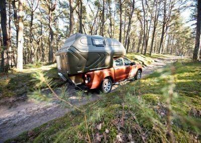 AZAR4 - Entwicklung eines Camper für 4x4 Pickup - pickap las droga 400x284 - Wie reist man mit einem Camper für den Pickup?