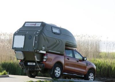 AZAR4 - Entwicklung eines Camper für 4x4 Pickup - pickup camper lake 400x284 - Wie baue ich einen funktionalen Camper aus einem Pickup