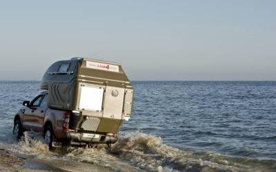 AZAR4 - Entwicklung eines Camper für 4x4 Pickup - wodna przeprawa offroad kamper camper 400x250 - Blog