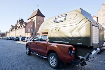 AZAR4 - Entwicklung eines Camper für 4x4 Pickup - Pick up kamper miasto - azar4