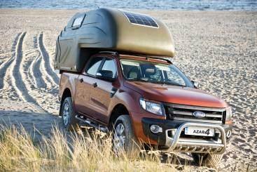 AZAR4 - Entwicklung eines Camper für 4x4 Pickup - kapsula na plazy - azar4