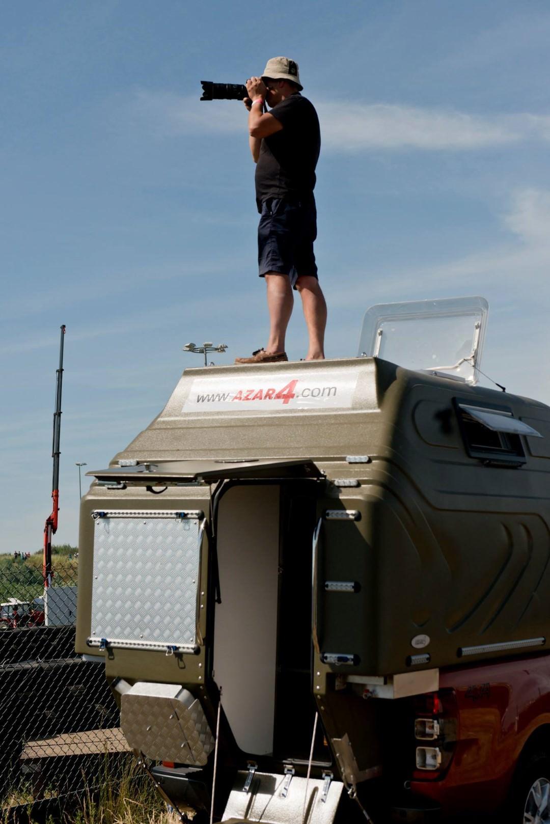 AZAR4 - Entwicklung eines Camper für 4x4 Pickup - 1 - Camper Pickup - anders verwenden!