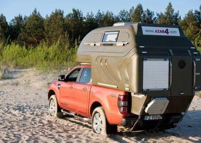 AZAR4 - Entwicklung eines Camper für 4x4 Pickup - AZAR4 400x284 - Ökonomisches Caravaning. Wie kann man auf Reisen mit einem Pickup Camper Geld sparen?