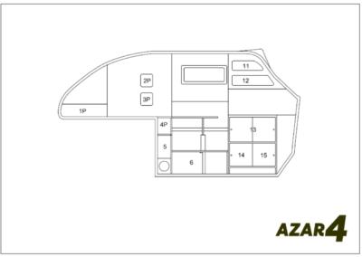 AZAR4 - Entwicklung eines Camper für 4x4 Pickup - 1 400x284 - Wie viel Gepäck passt in einen kompakten Camper auf einem Pickup AZAR4? Pickup Camper