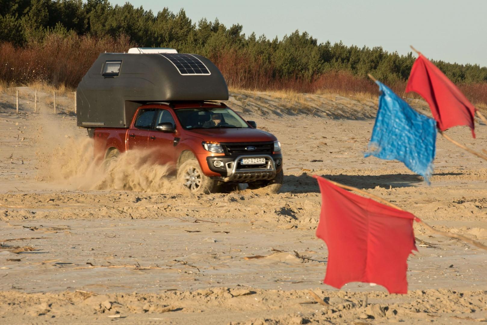 AZAR4 - Entwicklung eines Camper für 4x4 Pickup - DSC5760 D01 min - Wo liegt der Schwerpunkt der AZAR4-Kabine?