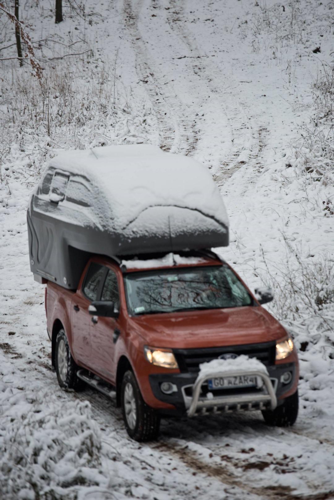AZAR4 - Entwicklung eines Camper für 4x4 Pickup - AZAR4 01282 DSC5400 D01 min scaled - Anpassung der AZAR4-Absetzkabine an die winterlichen Wetterverhältnisse