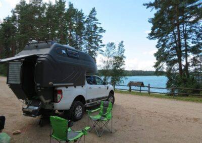 AZAR4 - Entwicklung eines Camper für 4x4 Pickup - 1 400x284 - Mit einem Pickup auf dem Camper durch Skandinavien