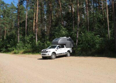 AZAR4 - Entwicklung eines Camper für 4x4 Pickup - 4 400x284 - Mit einem Pickup auf dem Camper durch Skandinavien