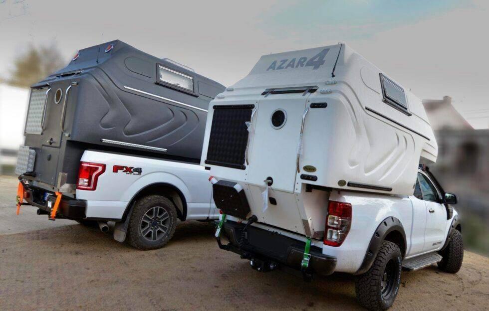 AZAR4 - Entwicklung eines Camper für 4x4 Pickup - kolory 980x624 1 - Nachrichten